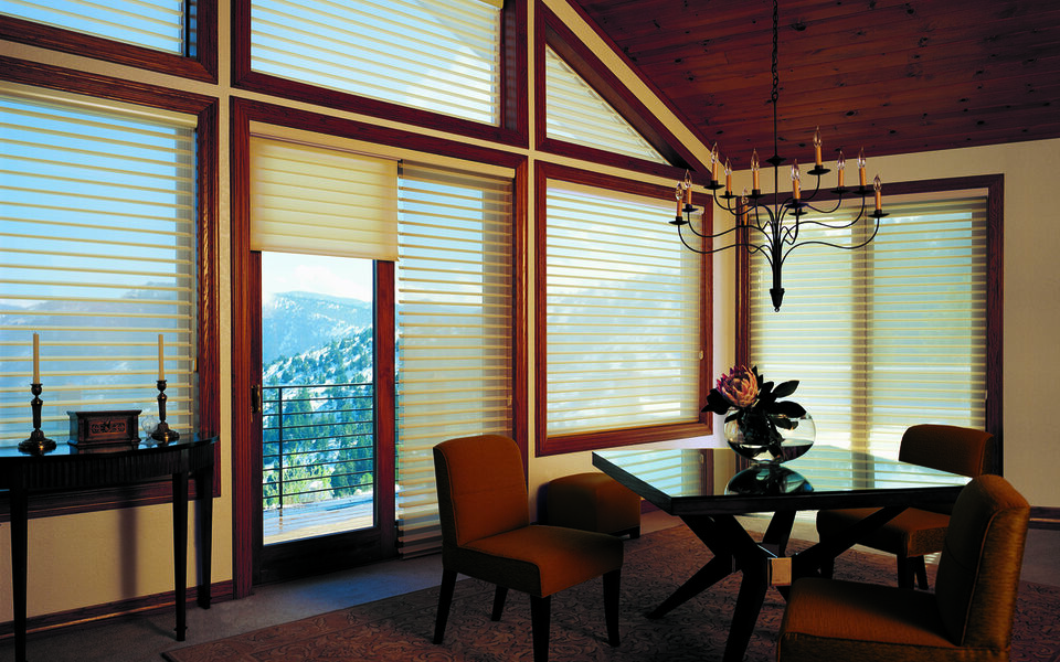 Introducing New Window Treatments to Homes Near Tustin, California (CA) including Silhouette Shadings for Custom Windows