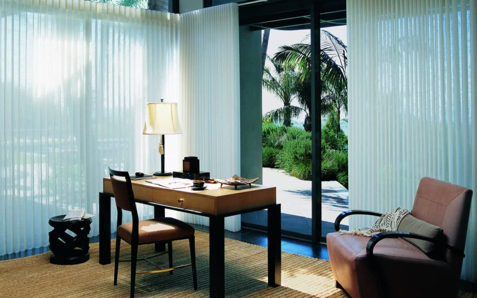 Upgrading the Window Treatments in your Home near Tustin, California (CA) including Luminette® Sheers and Shadings