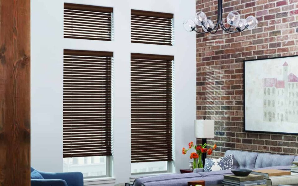 Integrating blinds into your decor near Tustin, California (CA) including wood, metal, and automation.