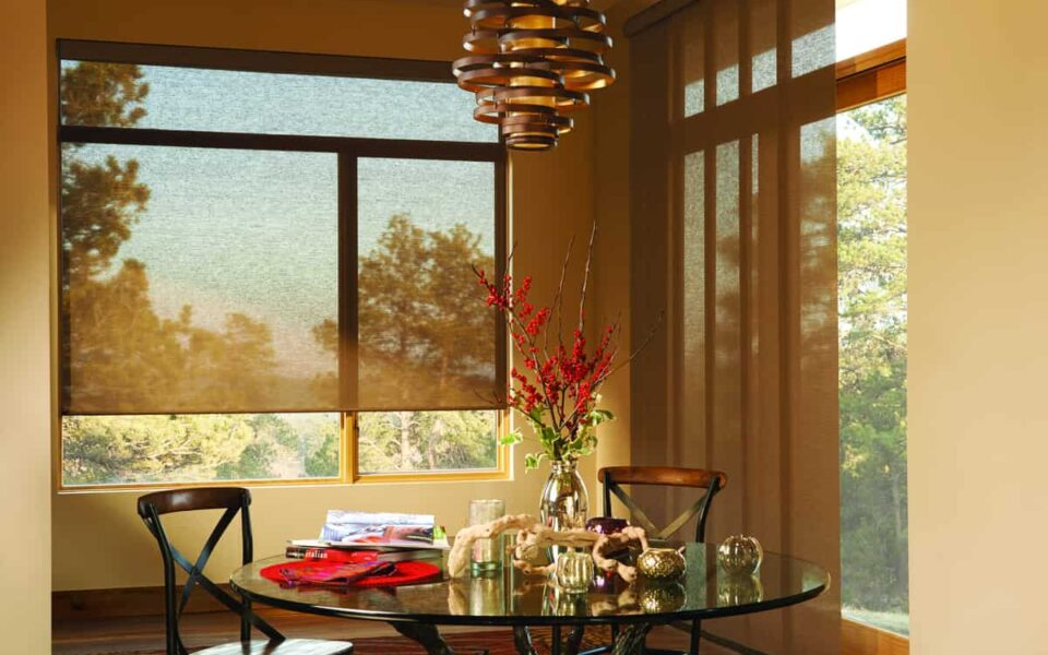 Introducing New Shades to Your Home Near Tustin, California (CA) including roman shades and woven woods