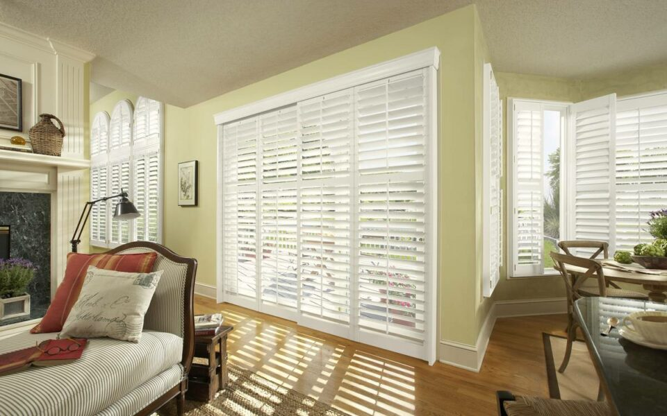 Premium wood shutters near Tustin, California (CA) with genuine hardwood, impressive features, and more